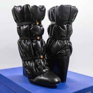 Stuart Weitzman Duvet Wedge Boots